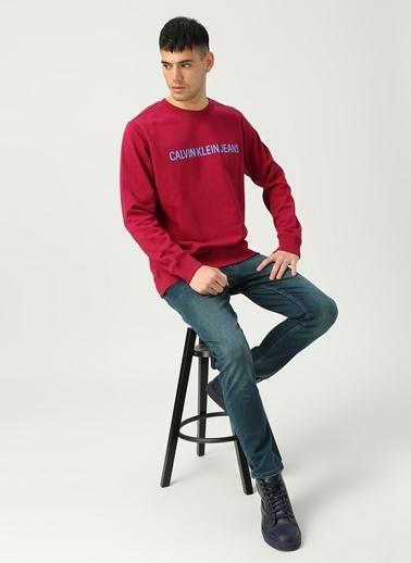 Calvin Klein Sweatshirt Bordo